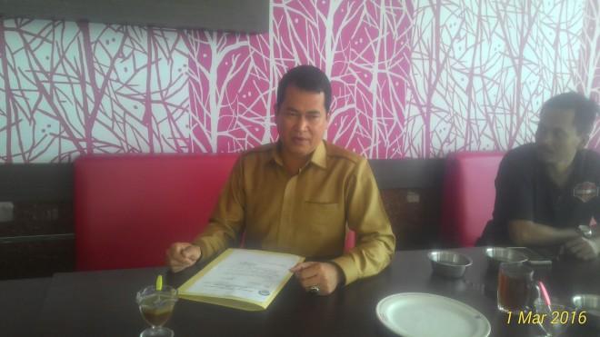 Calon ketua POBSI Jambi, Rudi Ardiansyah.