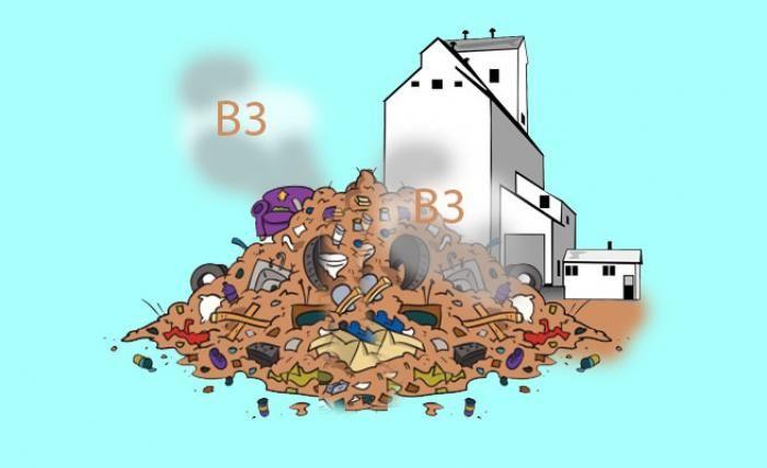 Ilustrasi Limbah B3