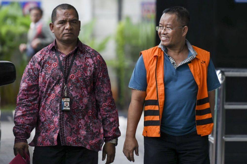 Supriyono Anggota DPRD Provinsi Jambi dari Fraksi PAN Tersangka Penerima Suap ketok paluRAPBD Jambi