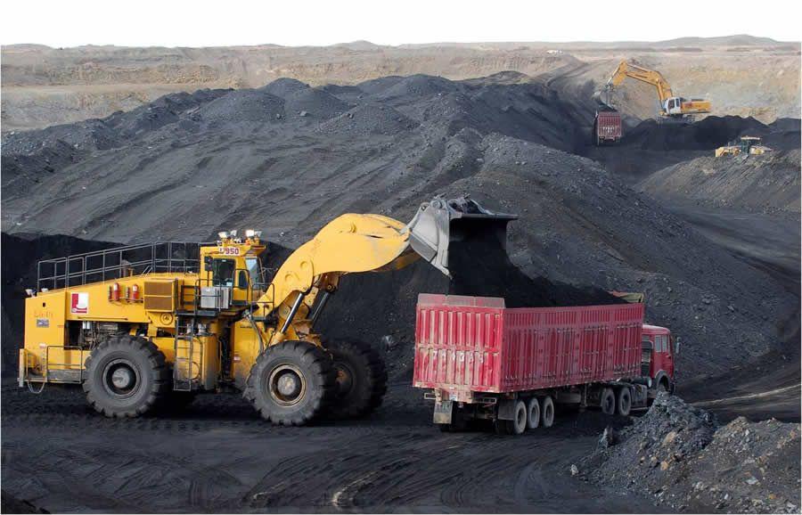 Ilustrasi aktifitas batubara