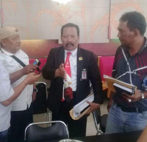 Tim Investigasi BPAN atau pihak yang mengklaim lahan dan Manager PT SAPM H Budi ketika diwawancarai pada Kamis 3 Mei 2018, siang