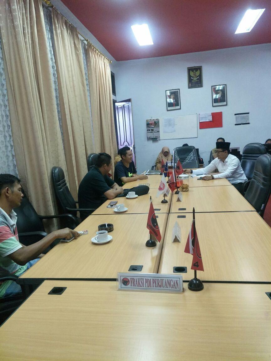 Pertemuan Komisi I DPRD kota Jambi dengan pihak ADO