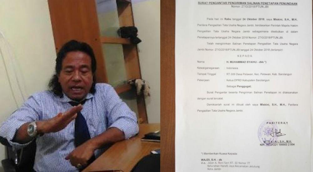 Pengamat hukum Jambi dari Universitas Jambi, Prof DR Bahder Johan Nasution