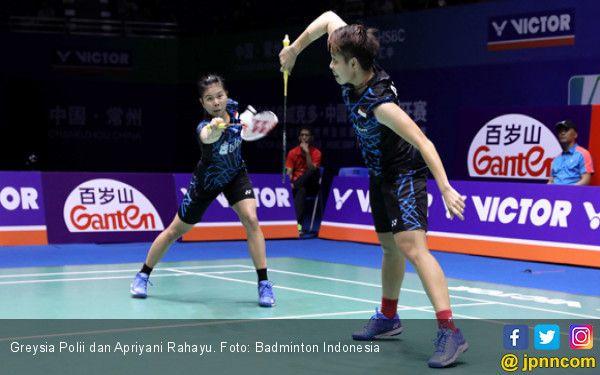 Greysia Polii dan Apriyani Rahayu Foto Badminton Indonesia