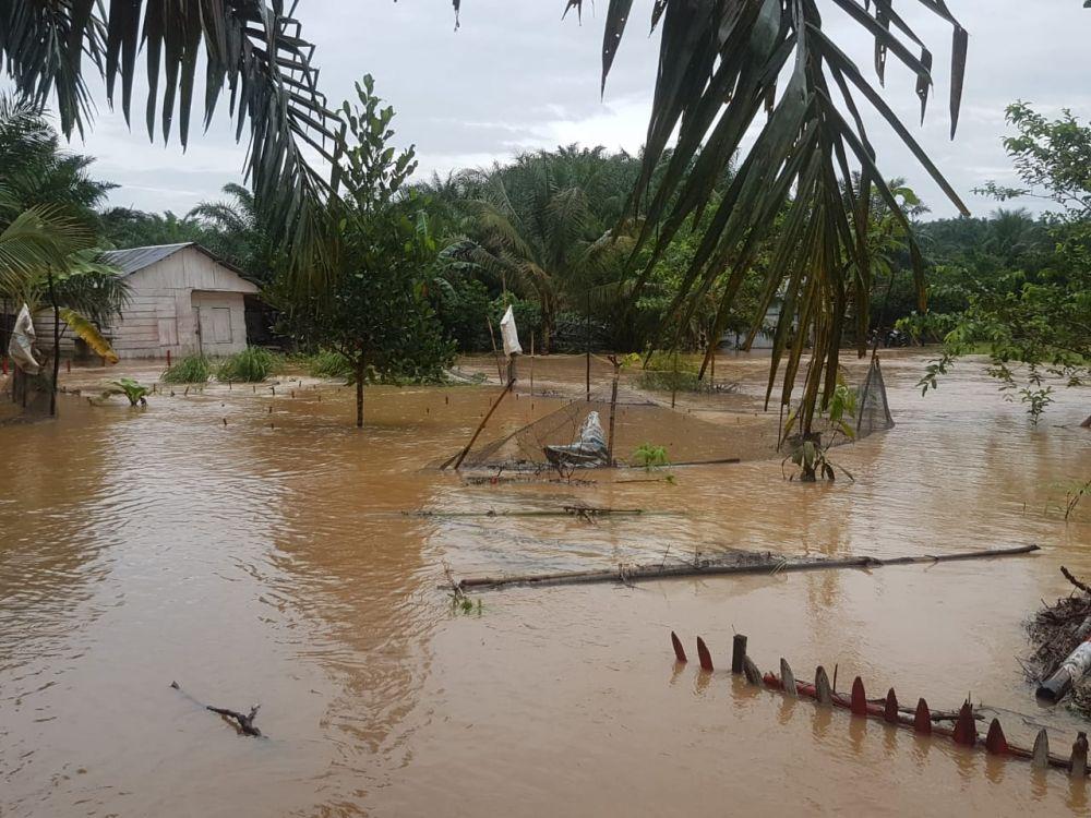 Banjir yang Terjadi di Kuala Tungkal