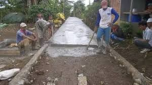 Proses Pembuatan Jalan Lingkungan