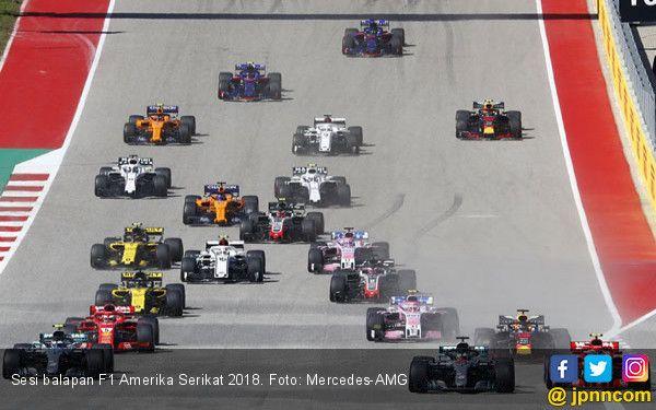 Sesi Balapan F1 Amerika Serikat