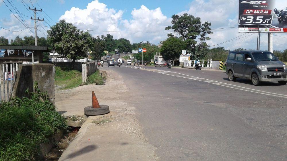 Perbatasan Kota Jambi dan Muarojambi