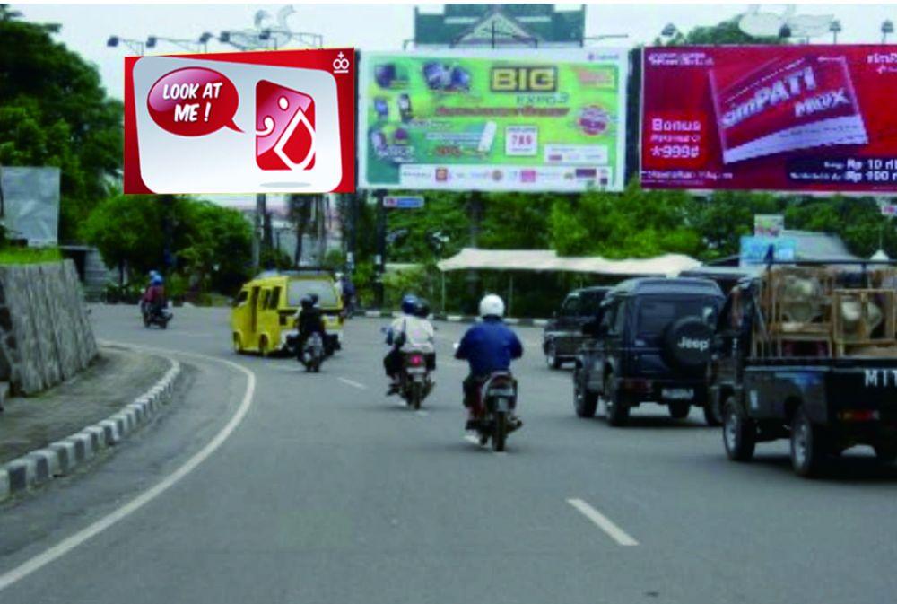 Salah Satu Reklame di Kota Jambi