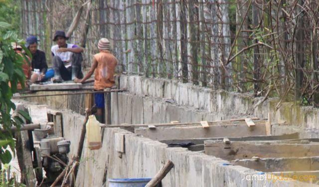 Perbaikan Drainase di Kota Jambi
