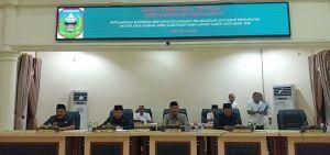 M Syaihu Pimpin Paripurna Penyampaian Ranperda Pertanggungjawaban Pelaksanaan APBD 2018