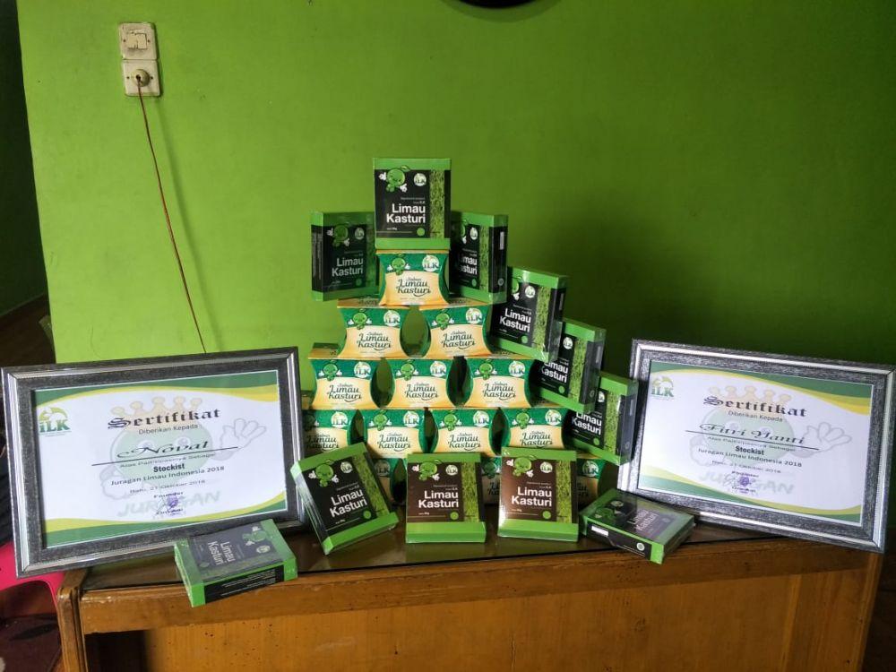 Produk Limau Kasturi yang Menyehatkan Kini Hadir di Kota Jambi