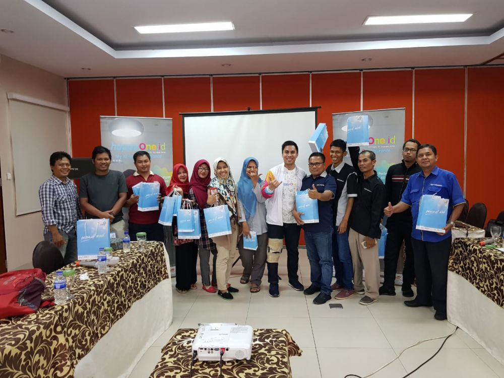 Media Gathering bersama  Asuransi Astra dalam kegiatan Lauching HappyOne.id