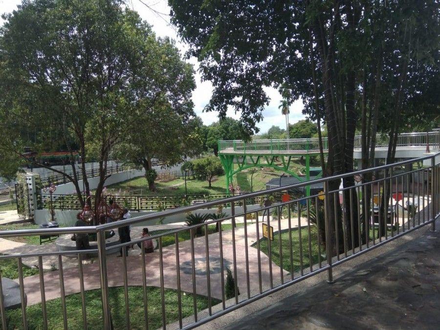 Kondisi RTH Taman Anggrek