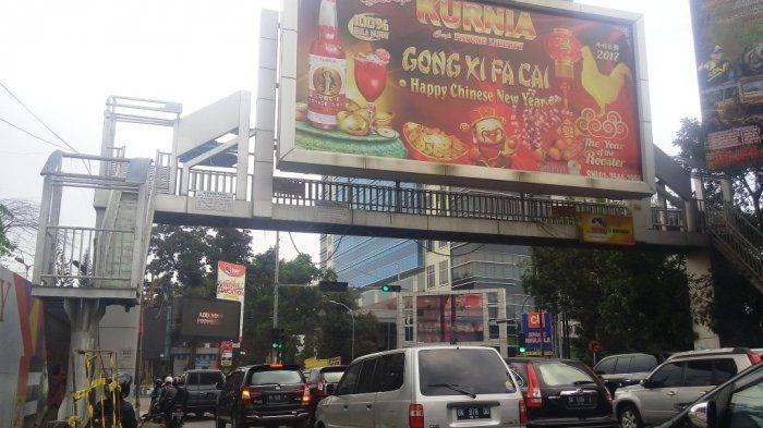 Salah Satu Sumber PAD Kota Jambi Papan Reklame