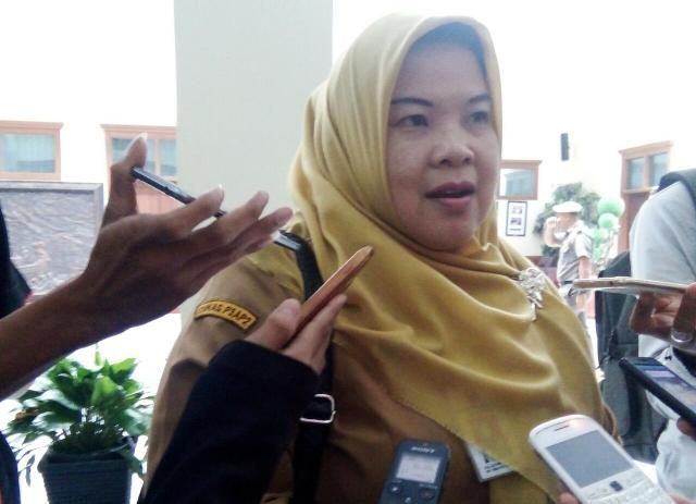 Kepala Dinas Pemberdayaan Perempuan dan Perlindungan Anak dan Pengendalian Penduduk  Provinsi Jambi Dra Luthpiah