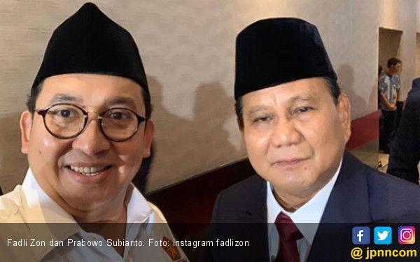 Fadli Zon dan Prabowo Subianto