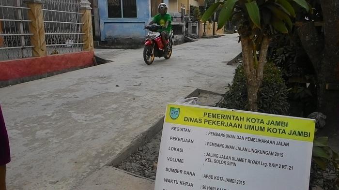 Jalan Lingkungan di Kota Jambi
