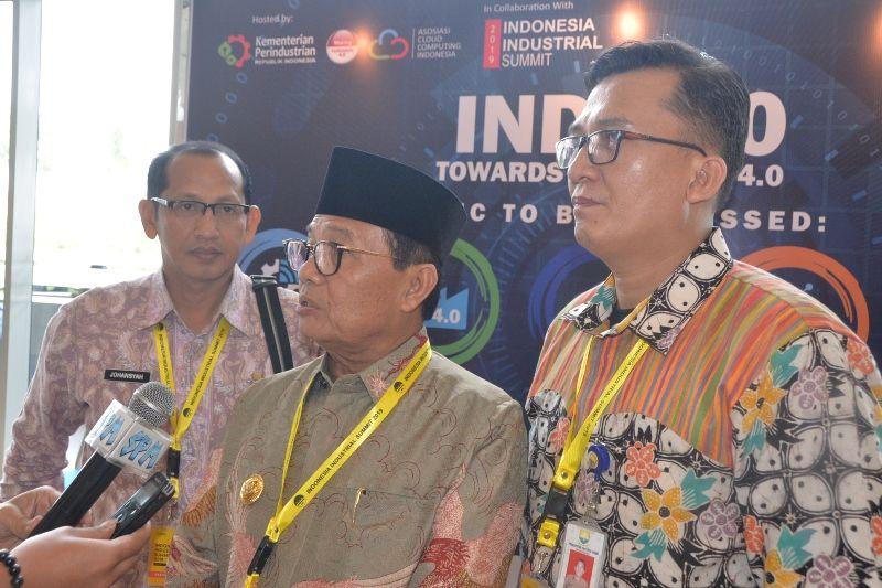 Gubernur Jambi Hadiri Indonesia industrial summit di ICE Tanggerang