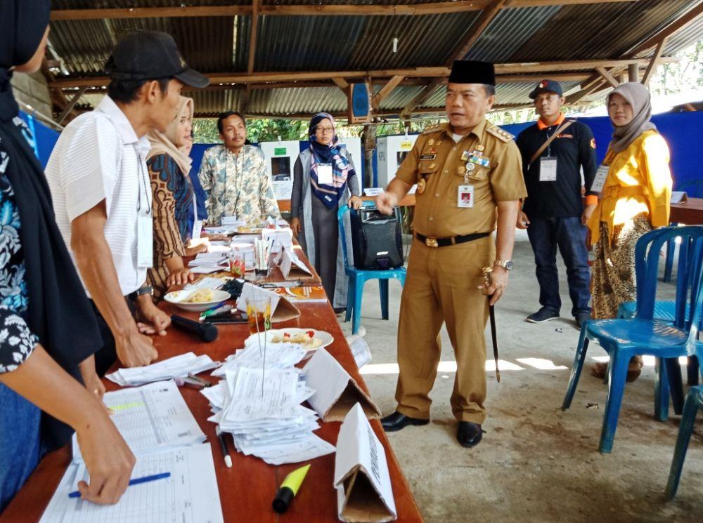 AL Haris  memantau pelaksanaan Pemilu
