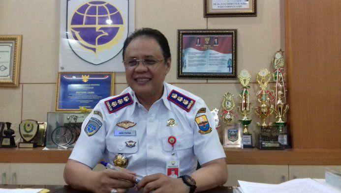 Kepala Dinas Perhubungan Varial Adhi Putra
