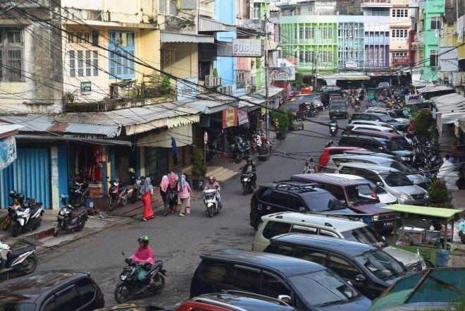 Lahan Parkir di Kota Jambi