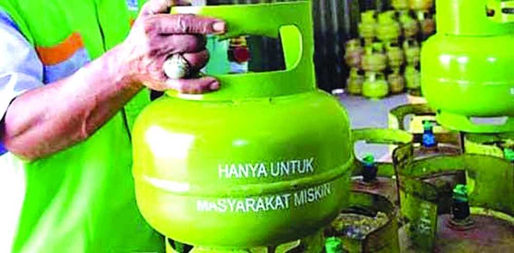 Harga gas 3 kg di Sarolangun naik hingga Rp 30 ribu per tabung