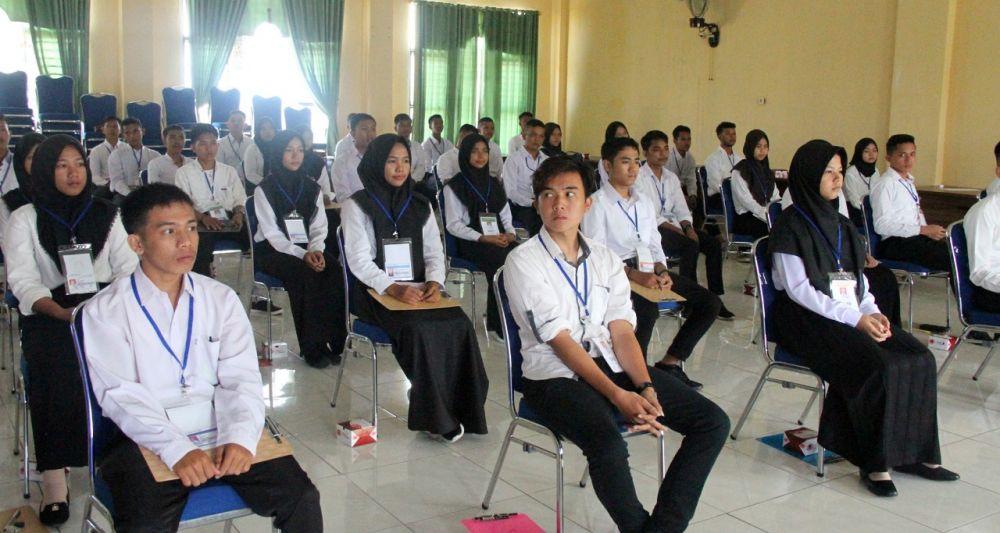 Peserta Ujian Seleksi Penerimaan Calon Taruna STP Jakarta