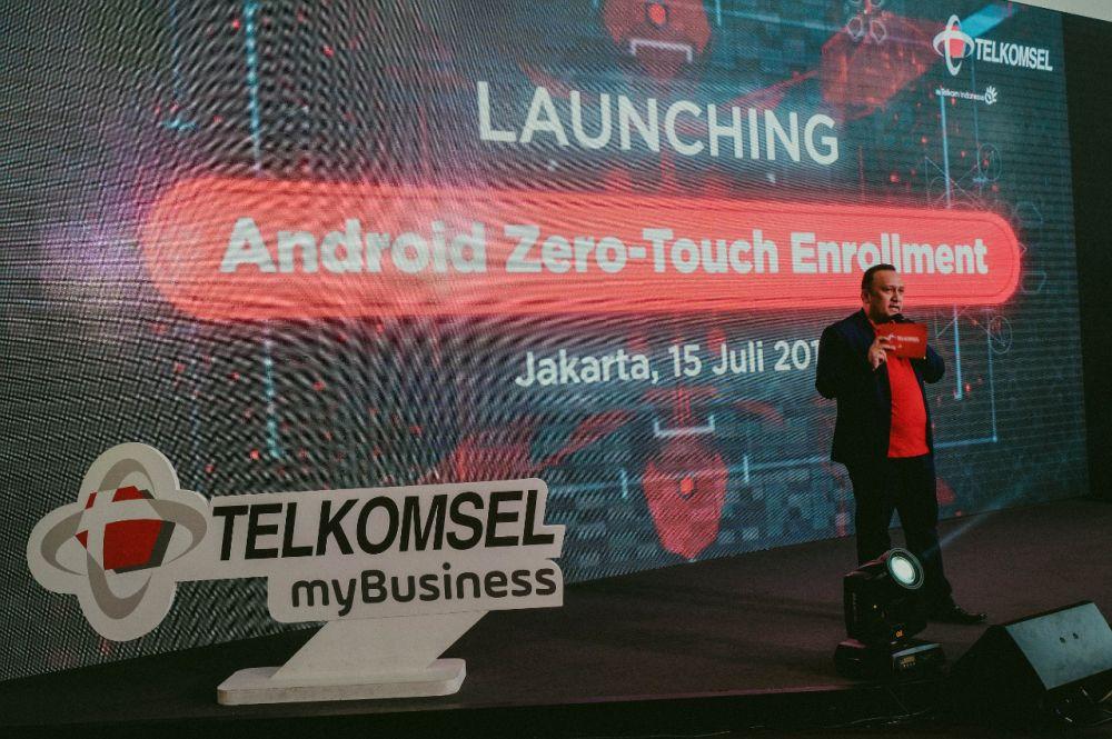 Peluncuran Telkomsel myBusiness Bermitra dengan Google Hadirkan Android Zero-touch Enrollment untuk Korporat.