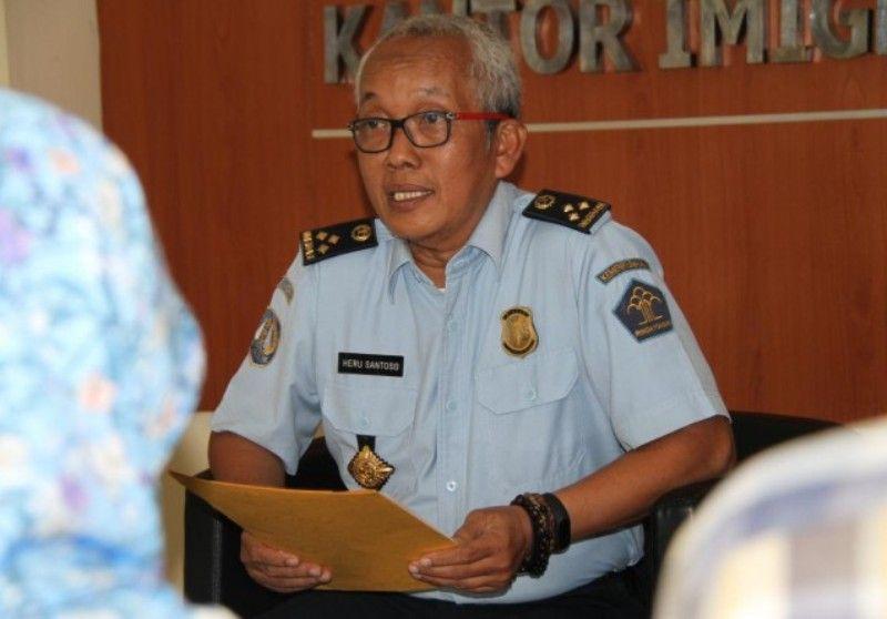 Kepala Kantor Imigrasi Kelas I Jambi Drs. Heru Santoso Ananta Yudha,M.H
