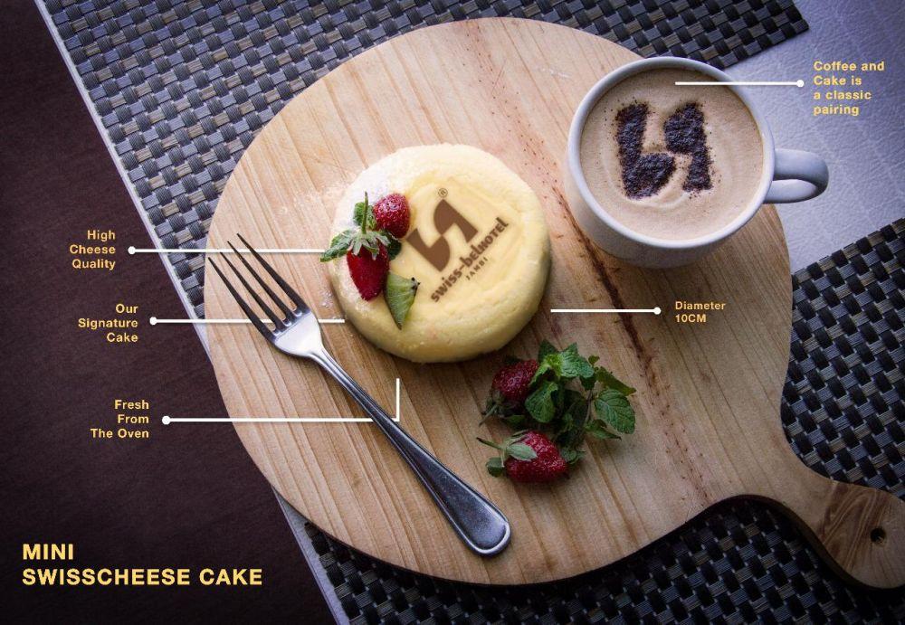 Mini Swisscheese Cake .