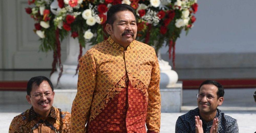 Jaksa Agung ST Burhanuddin yang baru saja ditunjuk Presiden Joko Widodo