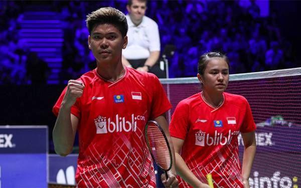 Praveen Jordan dan Melati Daeva Oktavianti. Foto: Badminton Indonesia