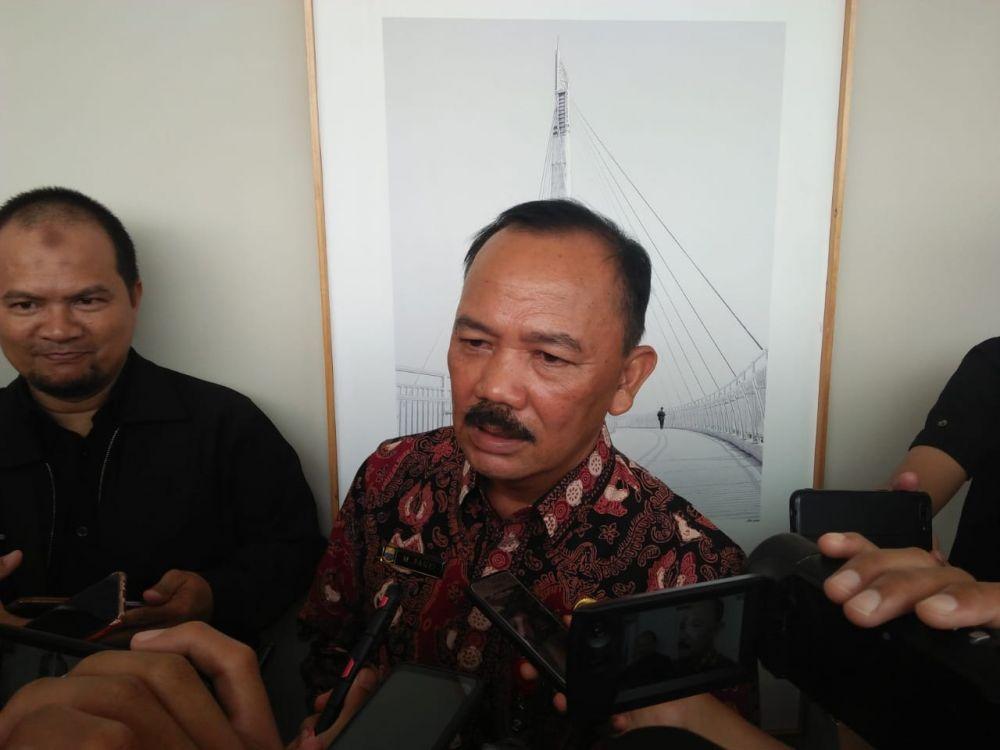 M. Fauzi  ketika diwawancara media .