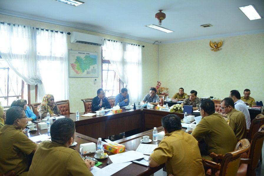 Hearing Komisi IV DPRD Provinsi Jambi dengan Dinas Pendidikan Provinsi Jambi.