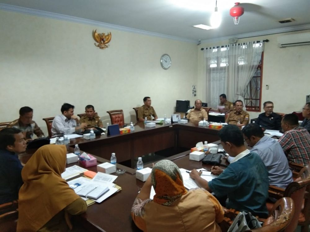 Hearing Komisi II DPRD Provinsi Jambi