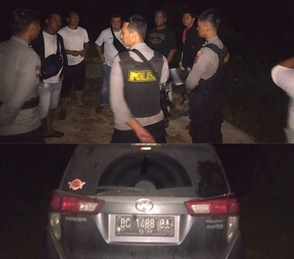 Aksi tim Opsnal Jatanras Reskrim Polres Sarolangun dipimpin Kanit Pidum, Aipda Romi S berhasil mengamankan 3 pelaku curas