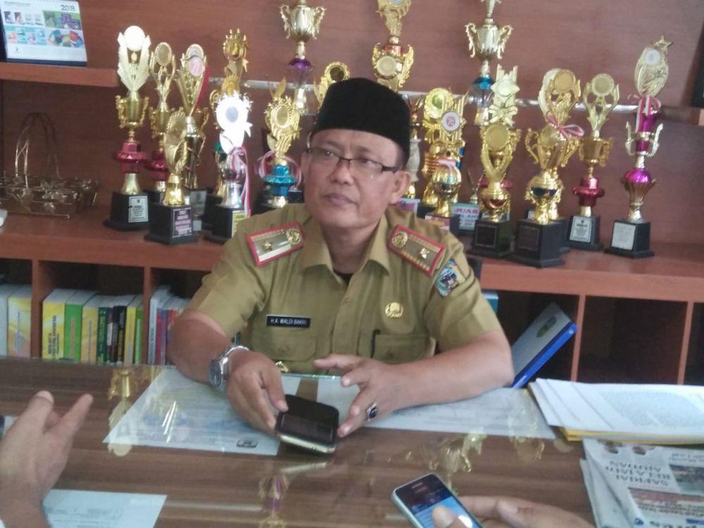 Kepala BKPSDM Sarolangun,  H A Waldi Bakri.