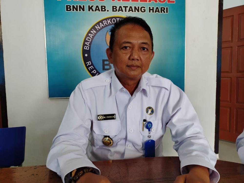 Kepala BNNK Batanghari, AKBP Muhammad Zuhairi.