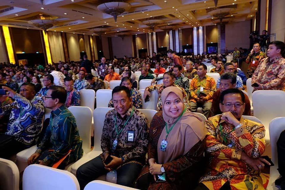Bupati Muarojambi menghadiri Rakornas Investasi 2020