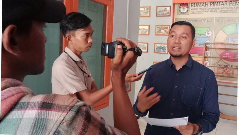 Devisi Parmas dan SDM KPU Kabupaten Sarolangun, Ibrahim SE MSi