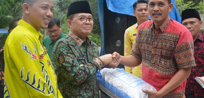 Pelayanan Terpadu Peternakan dan Kesehatan Hewan, di Desa Tanjung Belit, Kecamatan Jujuhan, Kabupaten Bungo, Jumat (28/2).