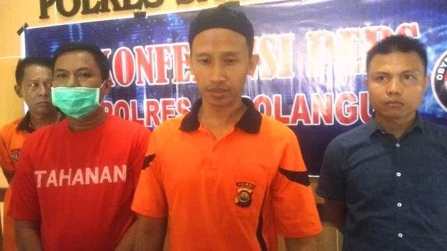 Kapolres Sarolangun, AKBP Deny Heryanto SIK saat diwawancarai awak media pada Jum'at (28/02), pagi.