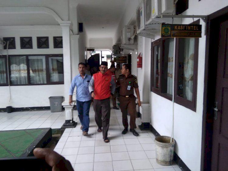 Fathuri dewan Muarojambi ditahun Kejari setelah berkasnya dinyatakan lengkap.