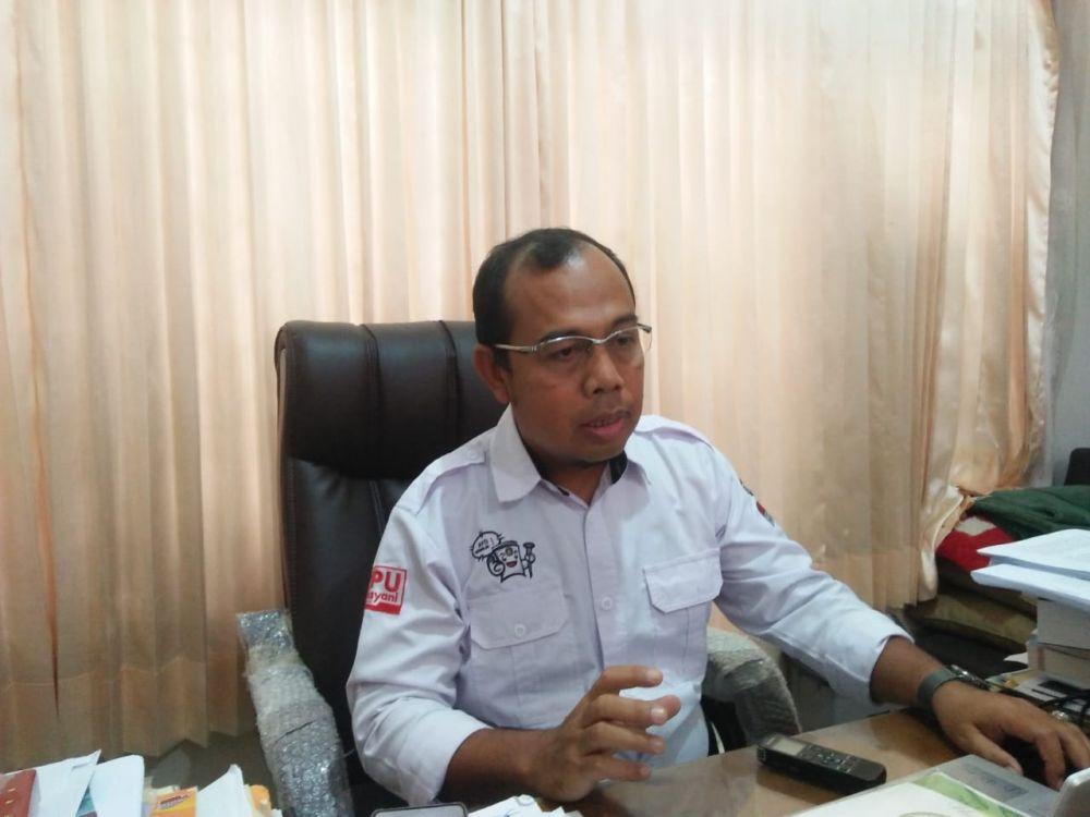 Komisioner KPU Provinsi Sanusi