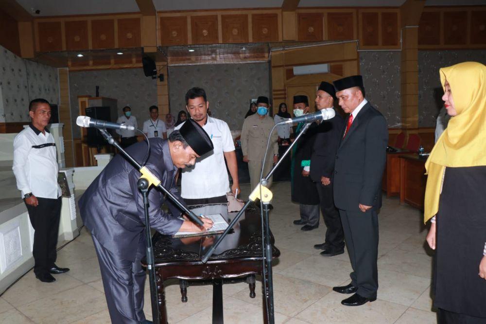 Pejabat yang baru dilantik