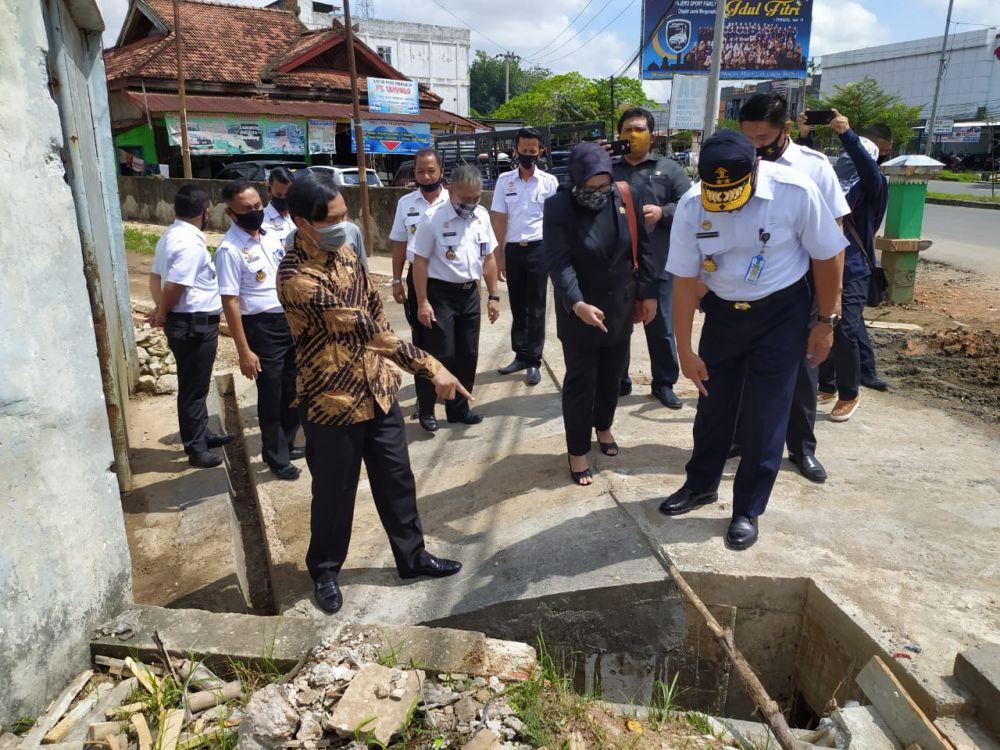 Ketua DPRD Provinsi Jambi Bersama Anggota Komisi I meninjau Lapas II A Jambi