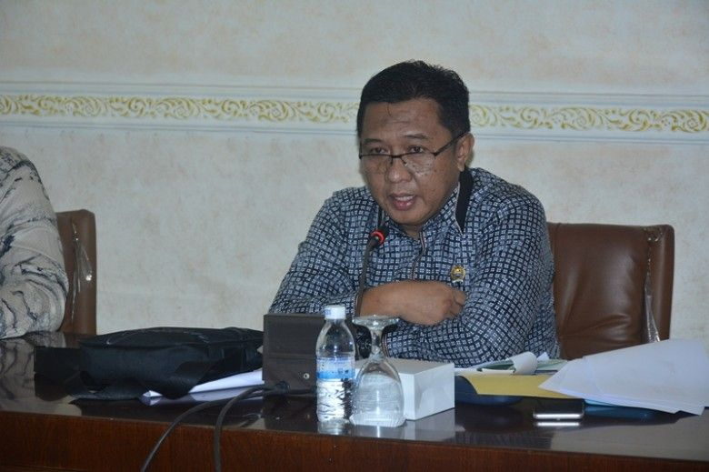 Ketua Komisi I DPRD Provinsi Jambi Hapis Hasbiallah