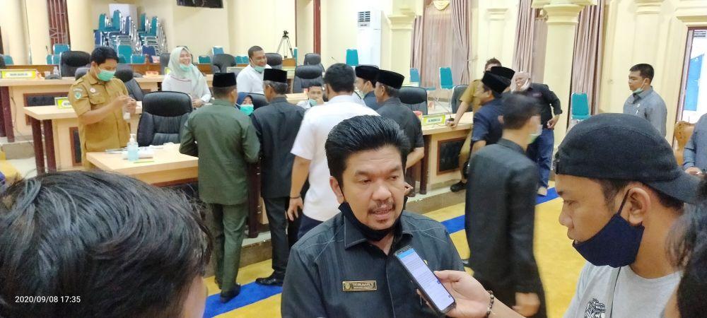 Ketua DPRD Sarolangun, Tontawi Jauhari SE