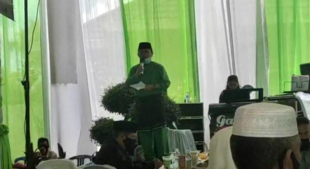 Calon Gubernur Jambi Al Haris di acara pernikahan